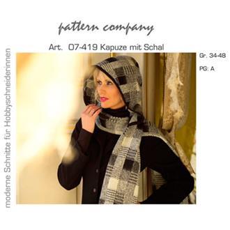 07-419 Kapuze mit Schal
