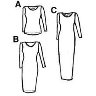 2HK2-93 - Shirt und Kleid