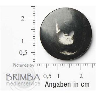 "Büffelhorn anthrazit 36"""