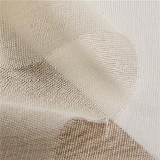 Bio-Baumwollmull, 120 cm Reststück mit Webfehler bei 14 cm, volle Breite