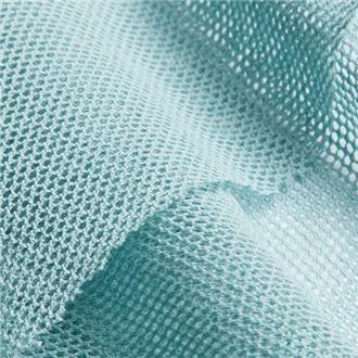 Bio-Baumwolltüll hellblau
