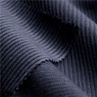 Bio-Cord nachtblau, 70 cm Reststück mit Webfehler ganze Länge, ca. 12 cm von Kante