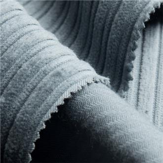 Bio-Kabelcord taubenblau