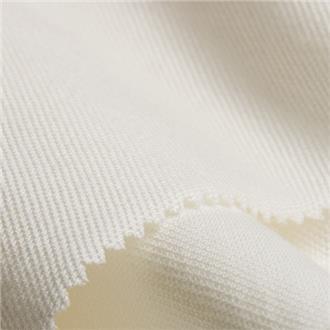 Bio-Pique weiß, 180 cm Reststück mit Verschmutzungen