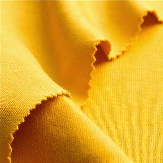 Bio-Rib-Jersey gelb