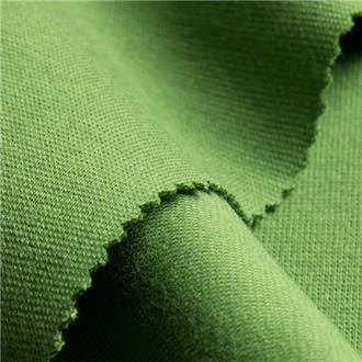 Bio-Rib-Jersey grün