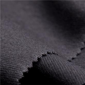Bio-SZ-Single schwarz 2, 105 cm Reststück erste 20 cm mit Flecken, volle Breite