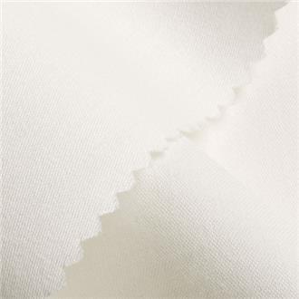 Bio-Satin F02 weiß, 285 cm Reststück
