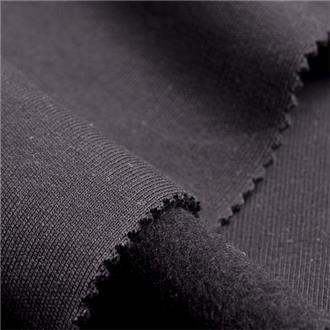 Bio-Sweat schwarz, 60 cm Reststück, zerknittert und leicht verschmutzt