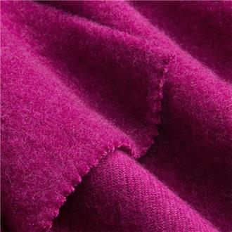 Bio-Woll-Baumwollfleece magenta