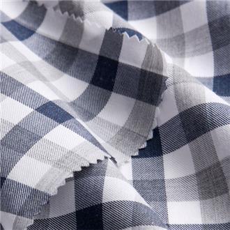 Checkora blue, 200 cm Reststück