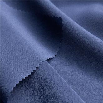 Crepe de Chine galaxy blue