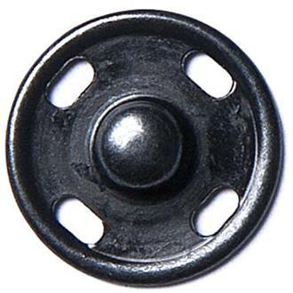 Druckknopf schwarz 12mm