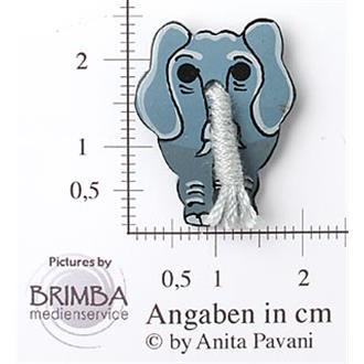 Elefant v. vorne