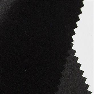 Futterseide 140 schwarz, 290 cm Reststück