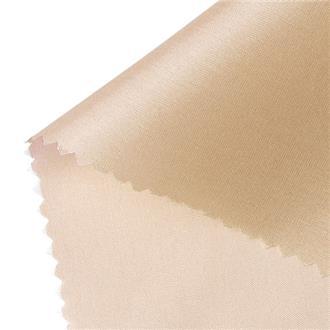 Futterseide F12 sand, 120 cm Reststück mit Farbabweichung