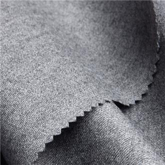Gabardina grigio chiaro, 100 cm Reststück