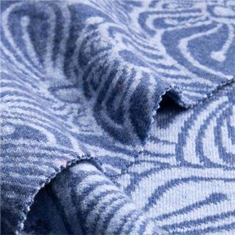 Griscona hell- und dunkelblau, 120 cm Reststück
