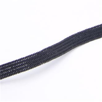 Gummiband 0,5 cm schwarz