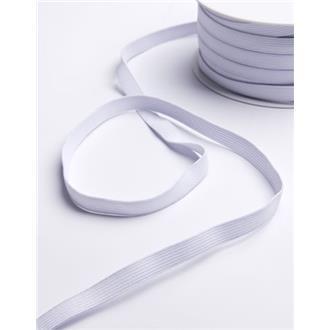 Gummiband 1 cm weiß
