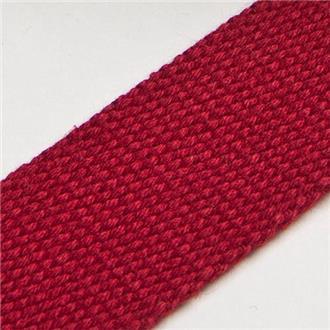 Gurtband 3cm dunkelrot, 220 cm Reststück