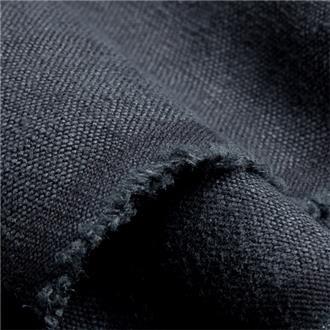 Hempstoned schwarz, 135 cm Reststück
