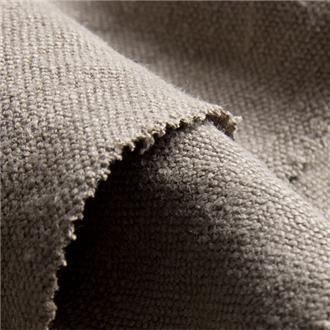 Hempstoned taupe, 145 cm Reststück letzte 20 cm mit mittigem Webfehler