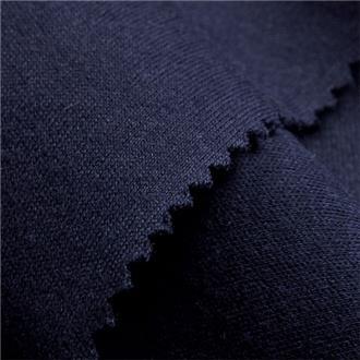 Interlock dunkelblau, 50 cm Reststück