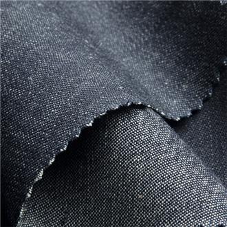 Jeanchill, 80 cm Reststück mit einem Webfehler, ca. 55 cm von der Webkante entfernt