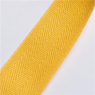 Köperband 25 gelb