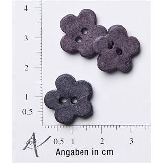 "Keramik-Blume dunkel-violett 26"""