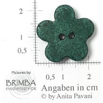"Keramik-Blume grün 34"""