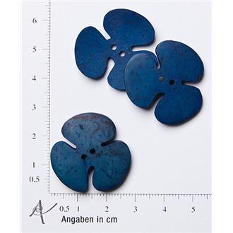 Kleeblatt klein blau
