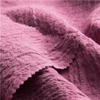 Krepp grau-pink, 100 cm Reststück