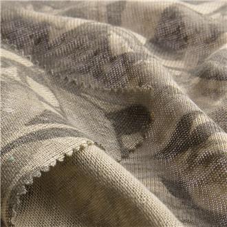Leinensingle florabeige, 300 cm Reststück mit kl. Löchern randlich
