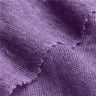 Leinensingle purpur