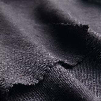 Leinensingle schwarz 2