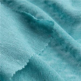 Leinensingle sweet turquoise
