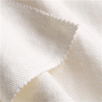 Leinentwill weiß, 275 cm Reststück mit dkl. Streifen (120 cm lang), ca. 55 cm von Kante