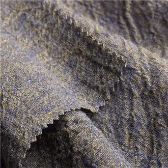 Linkrepp blaugelb, 260 cm Reststück