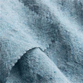 Linkrepp blaugrau, 200 cm Reststück mit Loch bei 60 cm, ca. 20 cm von Kante