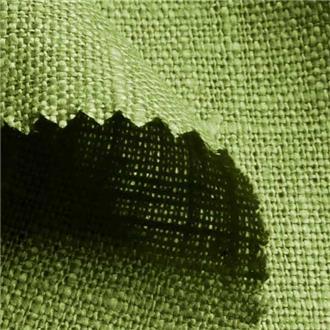 Lino pistazie, 345 cm Reststück mit kl. Webfehlern (siehe Beschreibung)