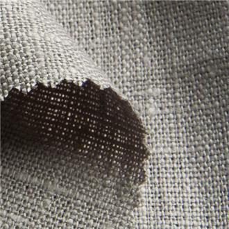 Lino stein, 240 cm Reststück mit Webfehler & kl. Loch (siehe Beschr.)