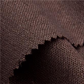Lino tabak, 270 cm Reststück, bei 100cm ein dunkler Querstreifen über die komplette Breite