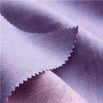Lintwill blau-rosa, 240 cm Reststück
