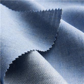 Lintwill blau-weiß, 200 cm Reststück