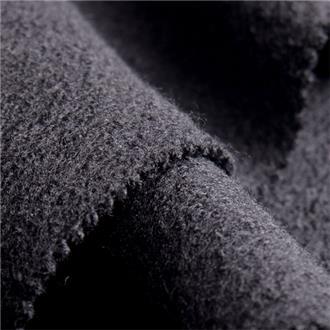 Merino-Feinwalk schwarz, 140 cm Reststück