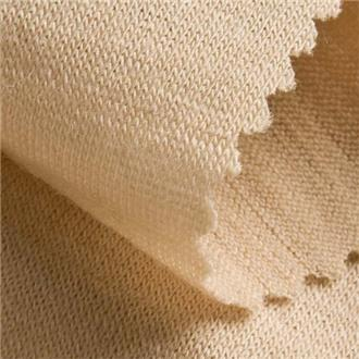 Merinojersey F17 sand, 90 cm Reststück