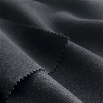 Moleskin black, 290 cm Reststück