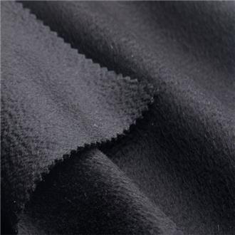 Puro Cashmere schwarz, 200 cm Reststück